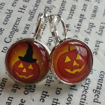 Halloween Earrings (Post or Dangle)- $9.50 with Free Shipping