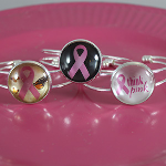 Breast Cancer Awareness Cuff Style Bracelet  $10 with FREE Shipping