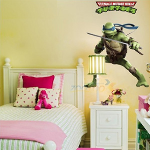 Giant Donatello TMNT Wall Sticker - $15 with FREE Shipping!