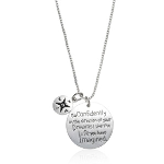 """Go Confidently in the Direction of Your Dreams"" Necklace - $13 with FREE Shipping!"